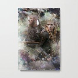 Battle Torn Metal Print