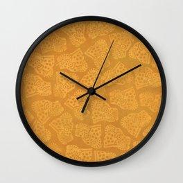 Ocelotl - Aztec Symbol for the Jaguar Warrior Wall Clock