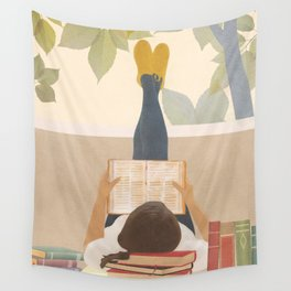 Bookworm Wall Tapestry
