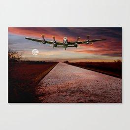 V12 Thunder in the Skys Canvas Print