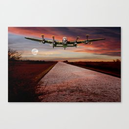 V12 Thunder in the Skys Canvas Print