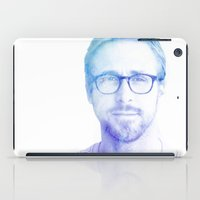 ryan gosling iPad Cases featuring Ryan by Sharna Myers