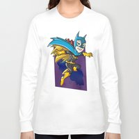 batgirl Long Sleeve T-shirts featuring Batgirl! by neicosta