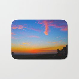 Beautiful sunset Bath Mat