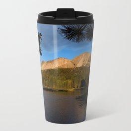 Manzanita Lake Lassen Volcanic National Park Landscape Metal Travel Mug