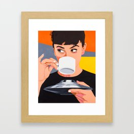 Coffee from X-Planet Framed Art Print