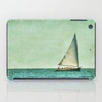 cape cod iPad Cases featuring sailing cape cod seas by marie grady palcic