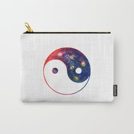 Yin Yang Symbol Watercolor Carry-All Pouch