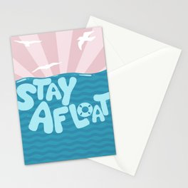 ST\Y AFLOAT Stationery Cards