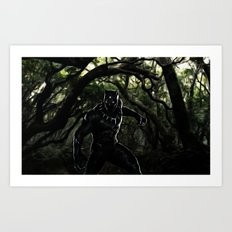 Big Cat On The Prowl Art Print