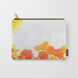 Watercolor Floral Series B Carry-All Pouch