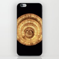 chandelier iPhone & iPod Skins featuring chandelier by Minimum