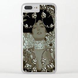 Art Nouveau Stylization/Klimt Clear iPhone Case
