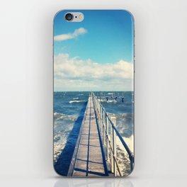 Rough Seas. iPhone Skin