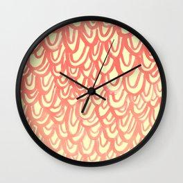 Salmon Wall Clock
