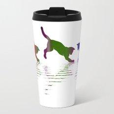 CATS RAINBOW II Metal Travel Mug