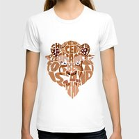 beauty and the beast T-shirts featuring beast by Rebecca McGoran