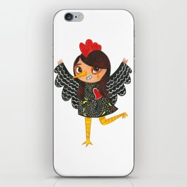 Happy New Year of the Rooster - Portuguese Rooster of Barcelos iPhone Skin