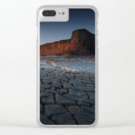Nash Point Heritage Coastline Clear iPhone Case