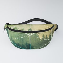 The Elements Geometric Nature Element of Earth Fanny Pack
