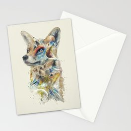 Heroes of Lylat Starfox Inspired Classy Geek Painting Stationery Cards