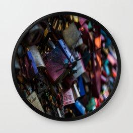 Lovelocks Wall Clock