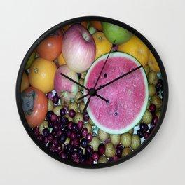 SIMPLY FRUITS Wall Clock