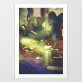 Absout Blur Art Print