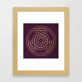 Hecate's Wheel Framed Art Print