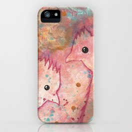 Two Chickens - Bakaark! iPhone Case