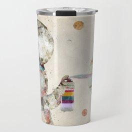 space graffiti Travel Mug