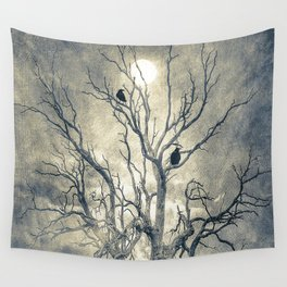 Raven's shelter II  (colour option) Wall Tapestry