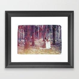 White Witch Framed Art Print