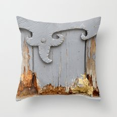 Door 2 Throw Pillow