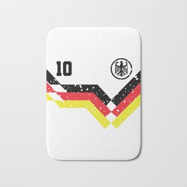 Germany Flag Eagle 10 Soccer Gift Bath Mat