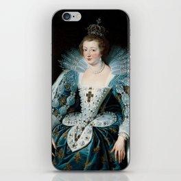 Royal Portrait Queen Anna iPhone Skin