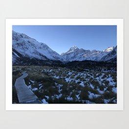 Hooker Lake Trail Art Print