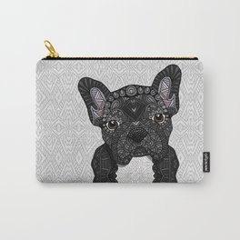 Black Frenchie 001 Carry-All Pouch