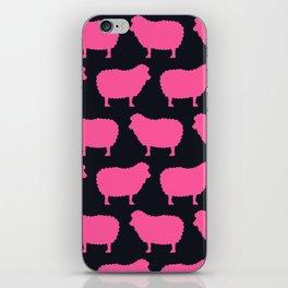 Sheep Pink iPhone Skin