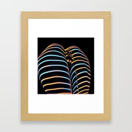 2634s-AK Striped Thighs Bottoms Up Intimate Abstract by Chris Maher Framed Art Print
