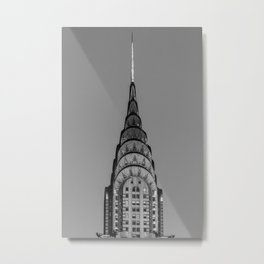 New York, Chrysler Building, William Van Alen Metal Print