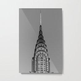 New York, Chrysler Building, William Van Alen Metal Print
