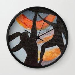 Dance Piece Wall Clock