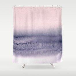 minimalist atmospheric landscape 2 Shower Curtain