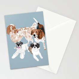 Barclay, Rhett, Ozzie and Gus Stationery Cards