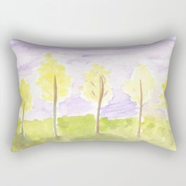 #57. UNTITLED (FALL) - Trees Rectangular Pillow