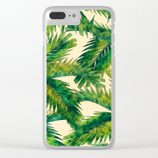 Palms Clear iPhone Case
