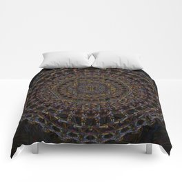 psychonaut mandala Comforters