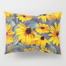 Black-eyed Susan Pattern Pillow Sham