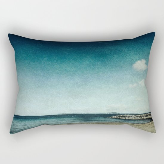 Blackening Skies Rectangular Pillow